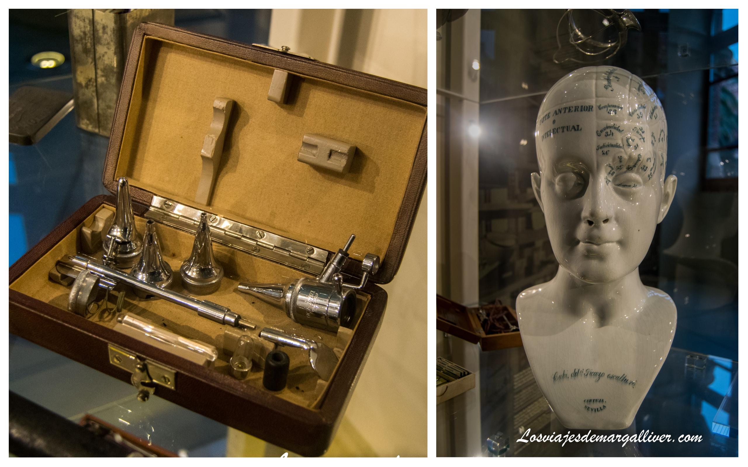 Material médico de la época que pudimos ver al visitar el Hospital de Sant Pau de Barcelona - Los viajes de Margalliver